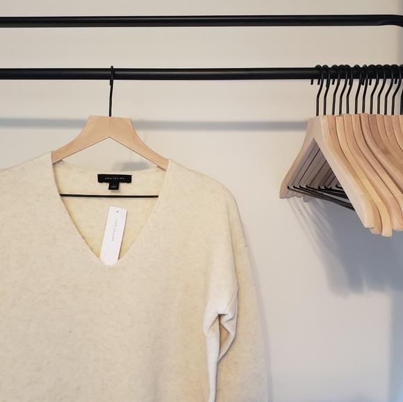 Ann Taylor Cream Sweater